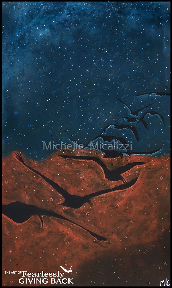 Give Your Mistakes Wings & Make Them Fly in Formation  by Michelle  Micalizzi
