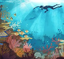 Coral Reef by Lizziefij