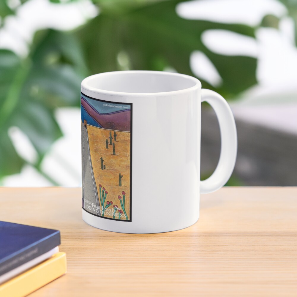Risk Blossoming Mug