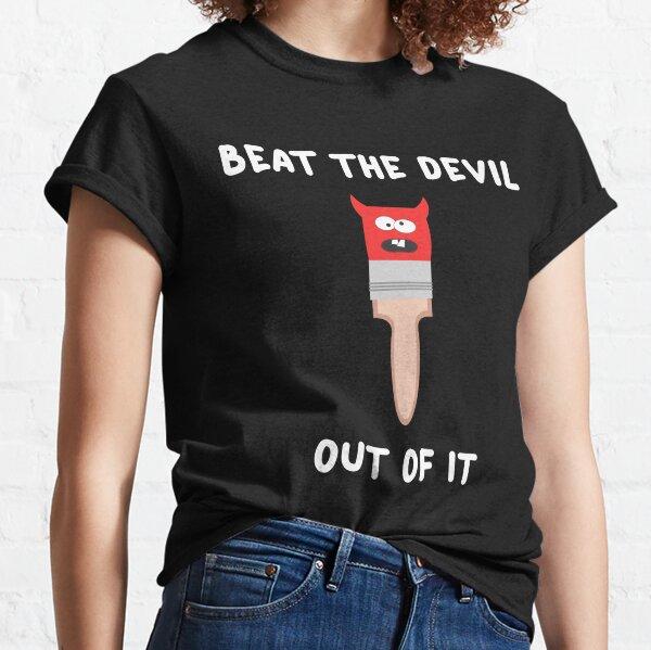 Bob Ross - Beat The Devil Classic T-Shirt
