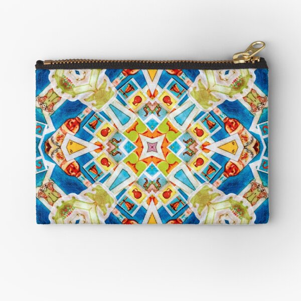 Lotería Mexican Lottery Cards Pattern Zipper Pouch