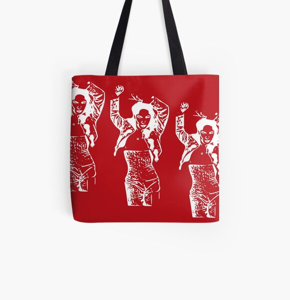 Let's Dance Print All Over Print Tote Bag
