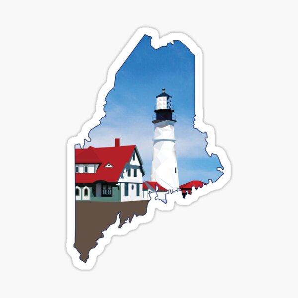 Portland Head Light, Cape Elizabeth Lighthouse Sticker