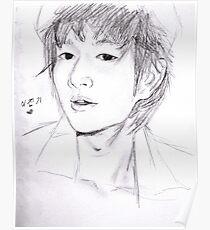 Jinki sketch Poster