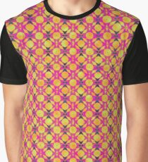 Retro Geometric Graphic T-Shirt