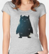 Mr. Cosmos (Color Version) Women's Fitted Scoop T-Shirt