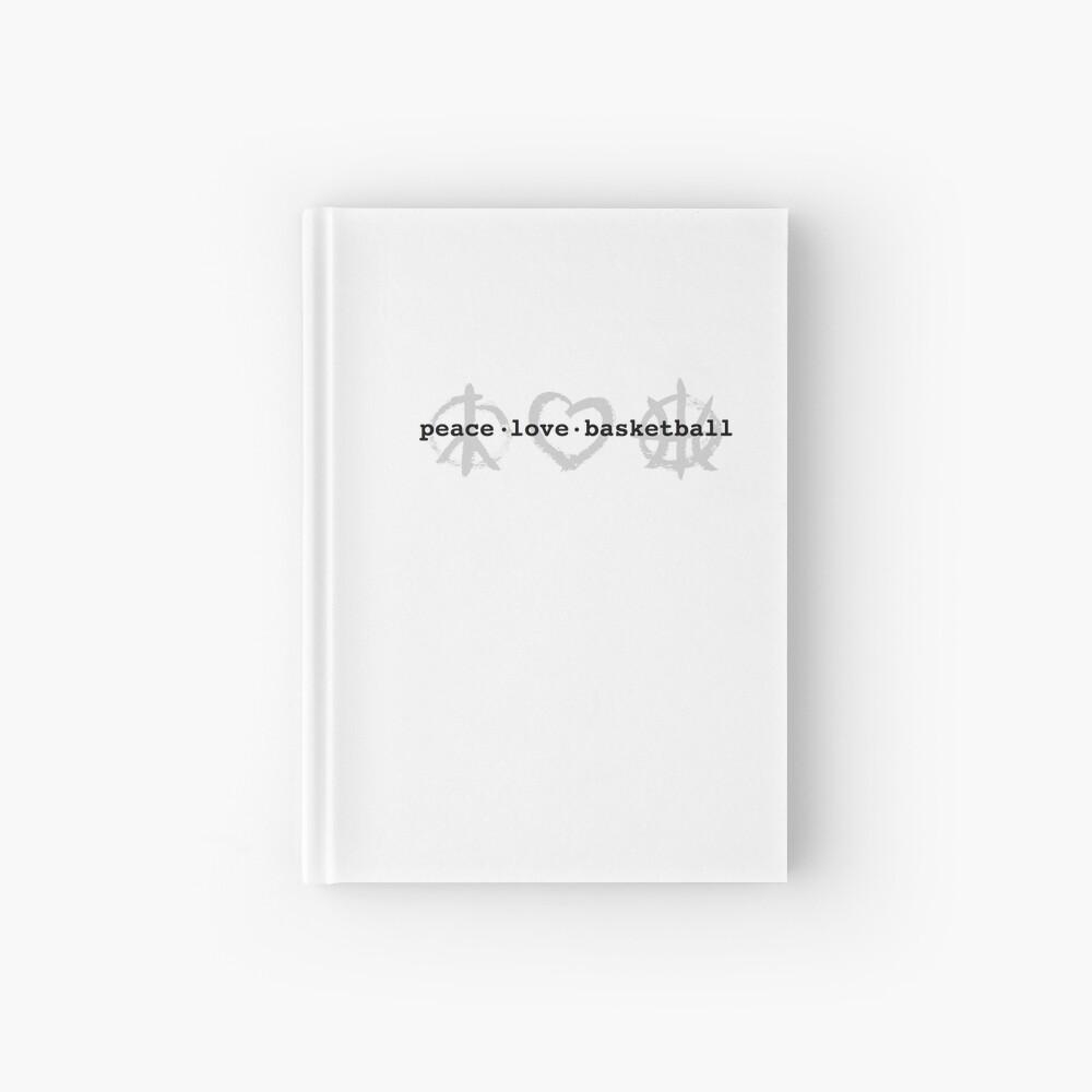 PeaceLoveBasketball  Hardcover Journal
