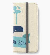 Deep Blue Sea Whale iPhone Wallet/Case/Skin