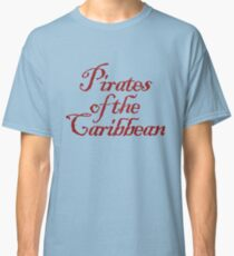 Piraten der Karibik Classic T-Shirt