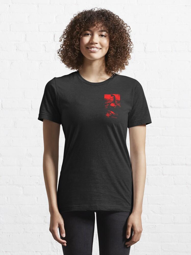 Alternate view of PUNK MONA LISA Essential T-Shirt