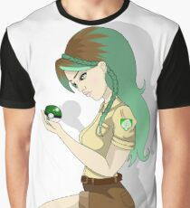 Grass Type Pinup Trainer Graphic T-Shirt