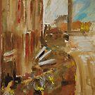 City landscape.  Railway bits n pieces.  by Lozzar Flowers & Art