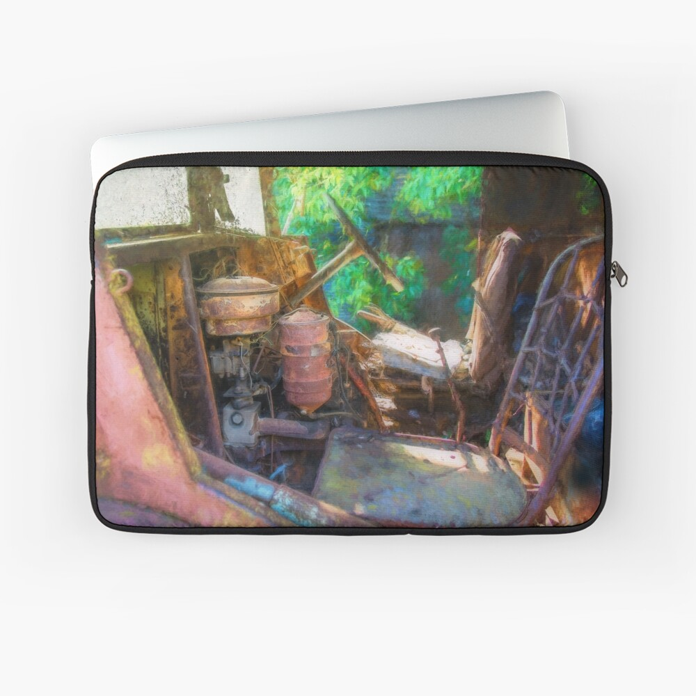 Rusty Truck Cabin Laptop Sleeve