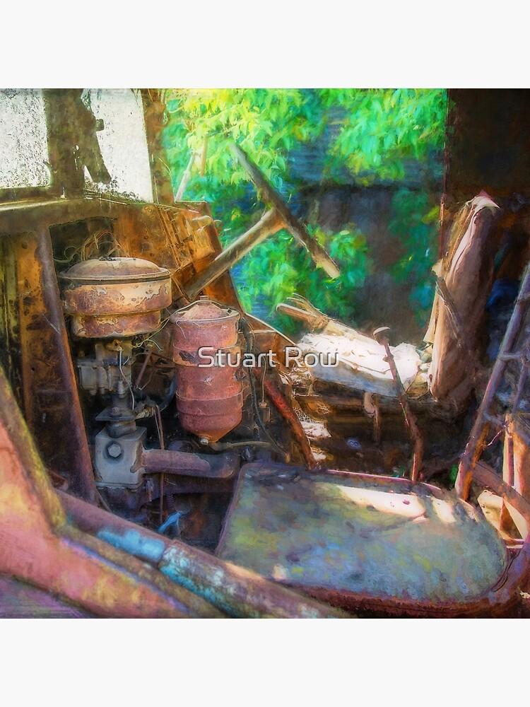 Rusty Truck Cabin by StuartRow