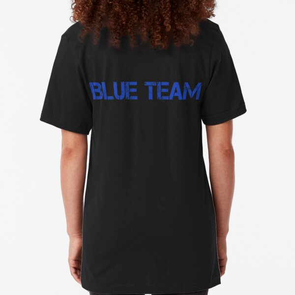 Cyber Security Blue Team Slim Fit T-Shirt