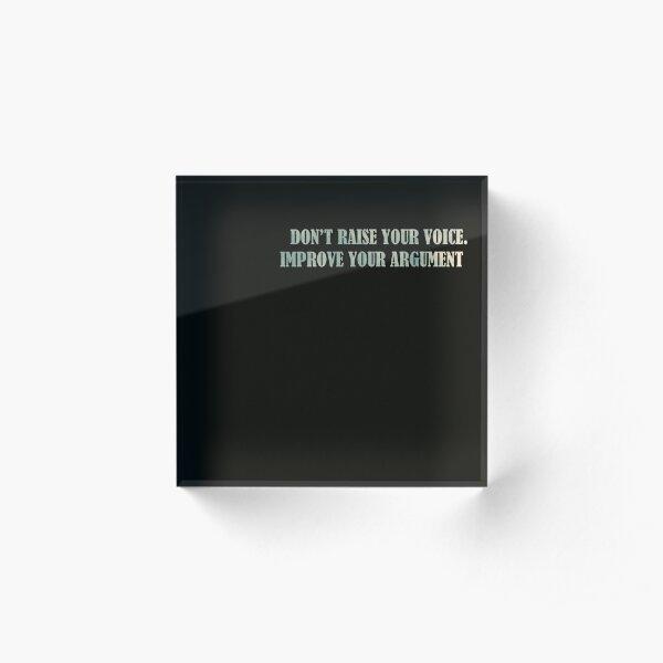 Harvey Specter - Quote Acrylic Block