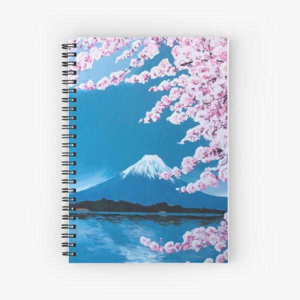 Japanese Cherry Blossoms  Spiral Notebook