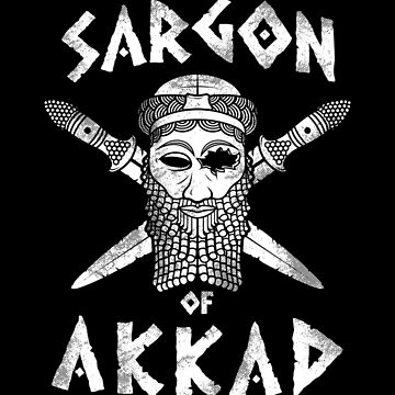 Sargon of Akkad - white by HellFrog
