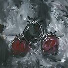 Three Tomatoes by David  Pearson