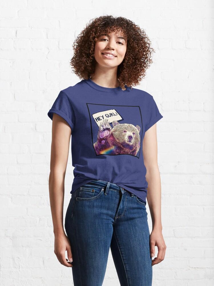 Alternate view of Hey Gurl Classic T-Shirt