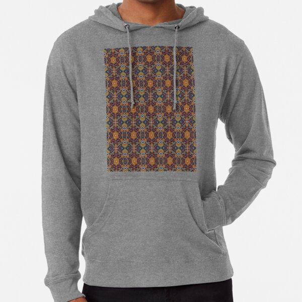 Pattern, design, tracery, weave, periodic pattern, symmetry, #pattern, #design, #tracery, #weave, #symmetry, #PeriodicPattern Lightweight Hoodie