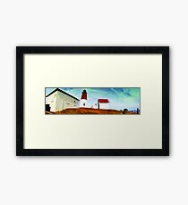 Pt Judith Lighthouse RI Framed Print