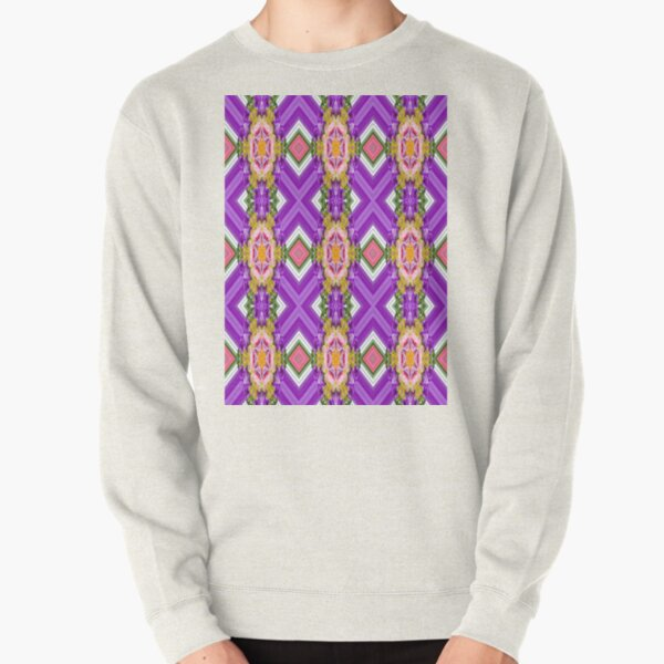 Pattern, design, tracery, weave, periodic pattern, symmetry, #pattern, #design, #tracery, #weave, #symmetry, #PeriodicPattern Pullover Sweatshirt