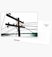 Lines of Communication Are Broken Postcards