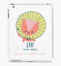 Sternzeichen Horoskop Sonnenzeichen Leo iPad-Hülle & Klebefolie