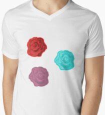 Summer Rose Men's V-Neck T-Shirt