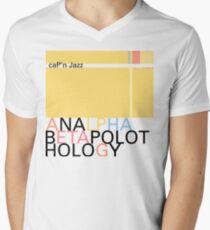 Cap'n Jazz – Analphabetapolothology Men's V-Neck T-Shirt