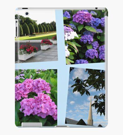 Hoher Sommer an der Preston-Tempel-Collage iPad-Hülle & Klebefolie