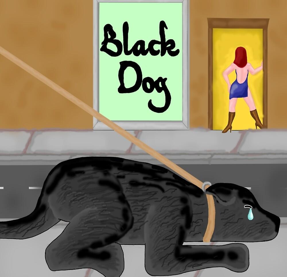 Black Dog by Marc Grossberg