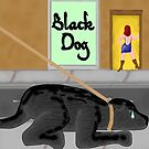 Black Dog by Marc Grossberg