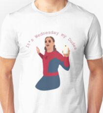 Es ist Mittwoch Meine Jungs Slim Fit T-Shirt