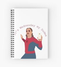It's Wednesday My Dudes Spiral Notebook