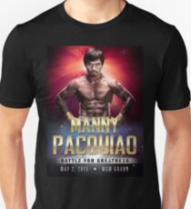 """Manny Pacquiao """"Battle for Greatness"""" T-Shirt"""