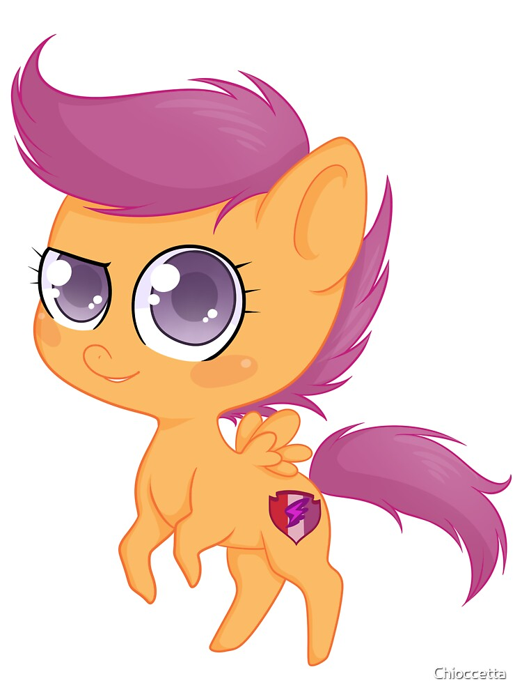 Scootaloo My Little Pony Friendship Is Magic Baby One Piece By Chioccetta Redbubble For the merch guides, the spot colors are rendered using cmyk alternate color space. redbubble