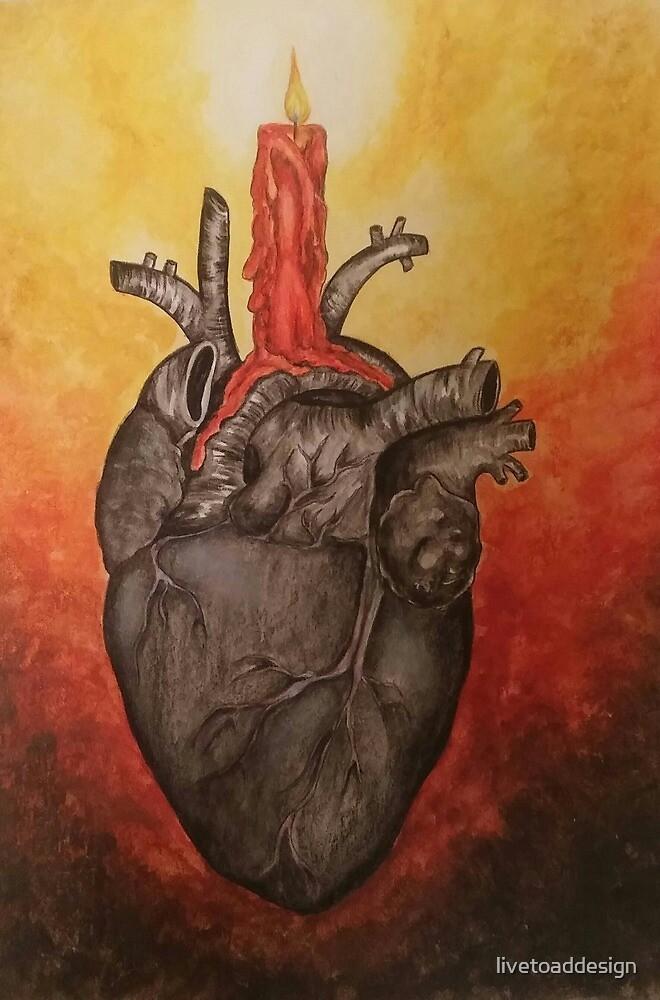 Black Heart by livetoaddesign