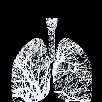 Just Breathe Human Lungs Doctor or Registered Nurse Design by spitzys