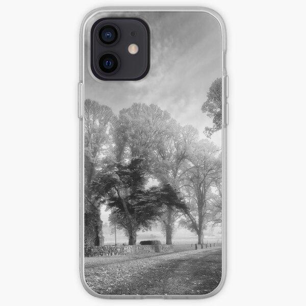 Gostwyck Chapel - BW iPhone Soft Case