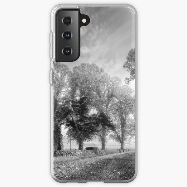 Gostwyck Chapel - BW Samsung Galaxy Soft Case