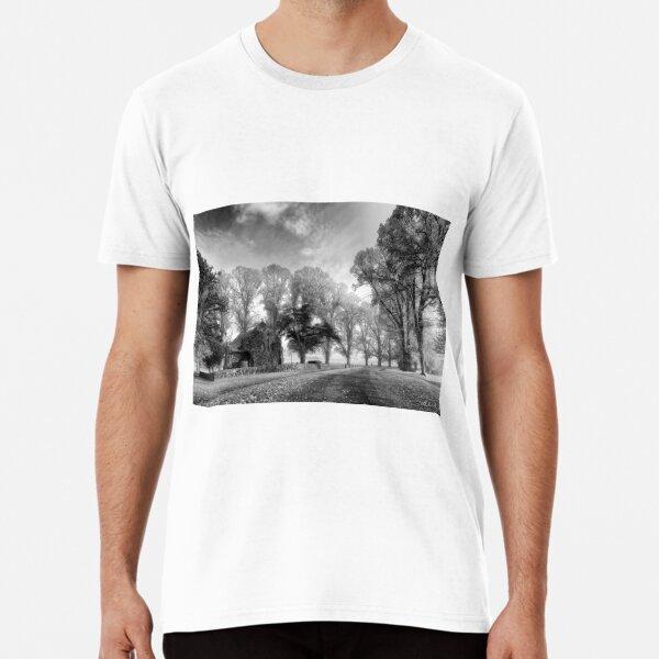 Gostwyck Chapel - BW Premium T-Shirt