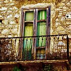 Weathered Balcony by Barbara  Brown