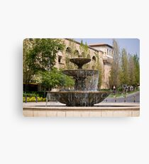 Three Tiered Water Fountain Canvas Print