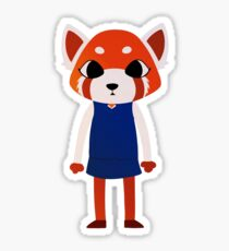 Red Panda in the Woods Sticker