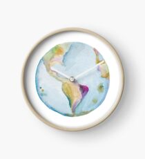 Earth, pass it on. Clock