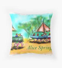 Alice Springs Throw Pillow