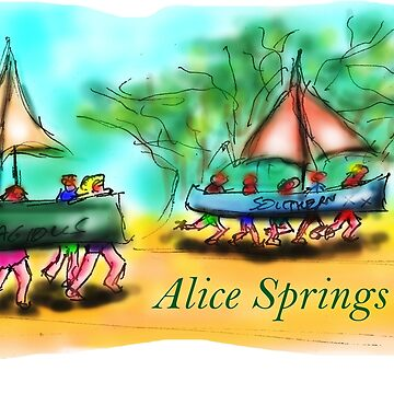 Alice Springs by davidfraser