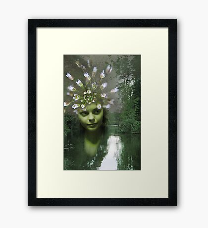 Queen of the Forest River Framed Print